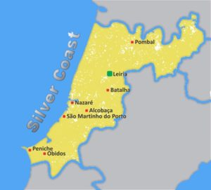 About This Blog Thinking About A Move To The Silver Coast - Portugal map silver coast